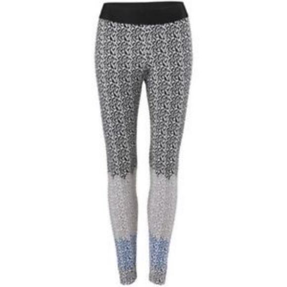 c9376f8a95750 CAbi Pants | Nwts 3128 Black Blue Gray Leggings | Poshmark